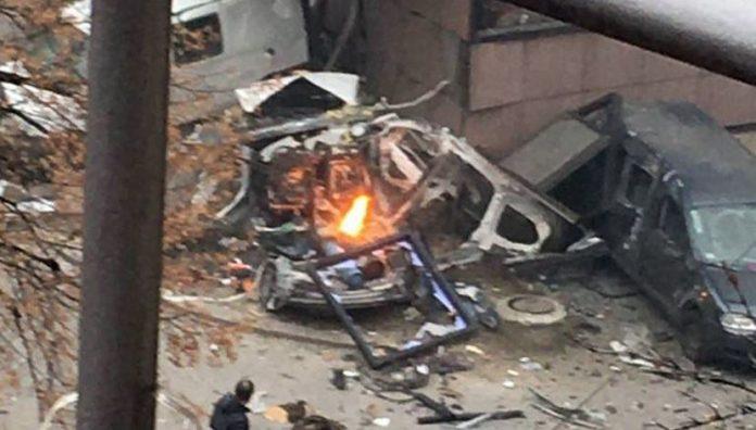 Eksplozija ispred zgrade RTS-a u Beogradu, poginula osoba