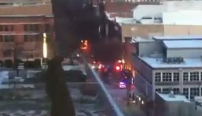 Užas u SAD-u: Začula se eksplozija, a onda se srušila zgrada (VIDEO)