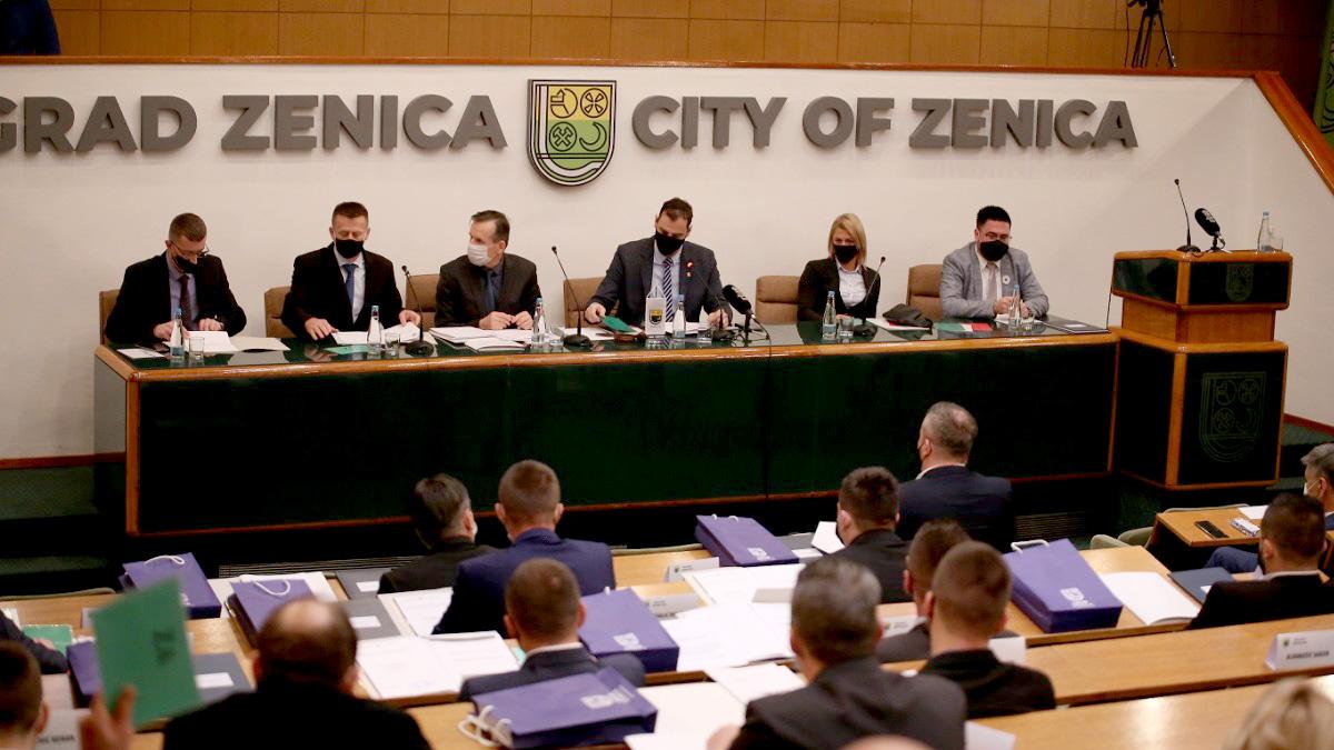 Danas 2. sjednica gradskog vijeća Grada Zenica