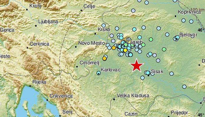 Hrvatska Zemljotres