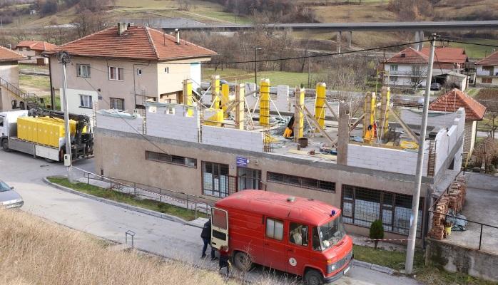 Počela rekonstrukcija i adaptacija ambulante porodične medicine u MZ Janjići (FOTO)
