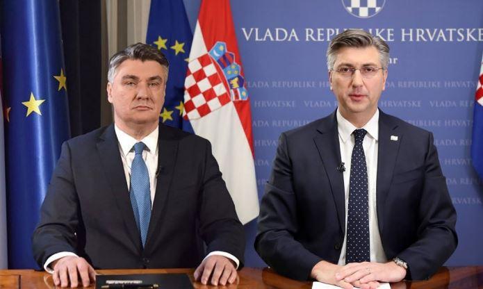 Milanović i Plenković: Nužno uvažavati činjenicu da su Hrvati jedan od tri konstitutivna naroda u BiH
