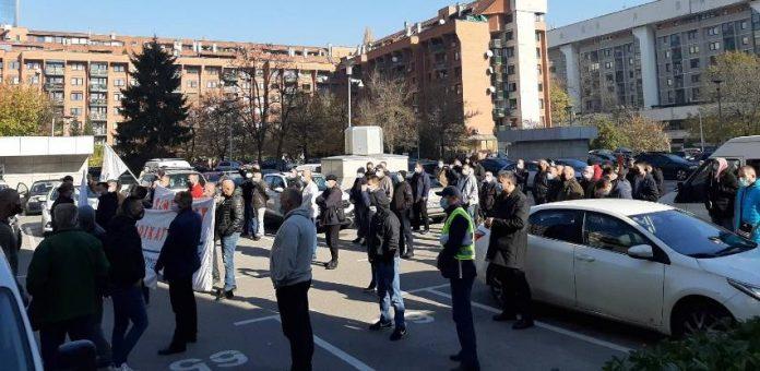 Radnici BH Telecoma U štrajku