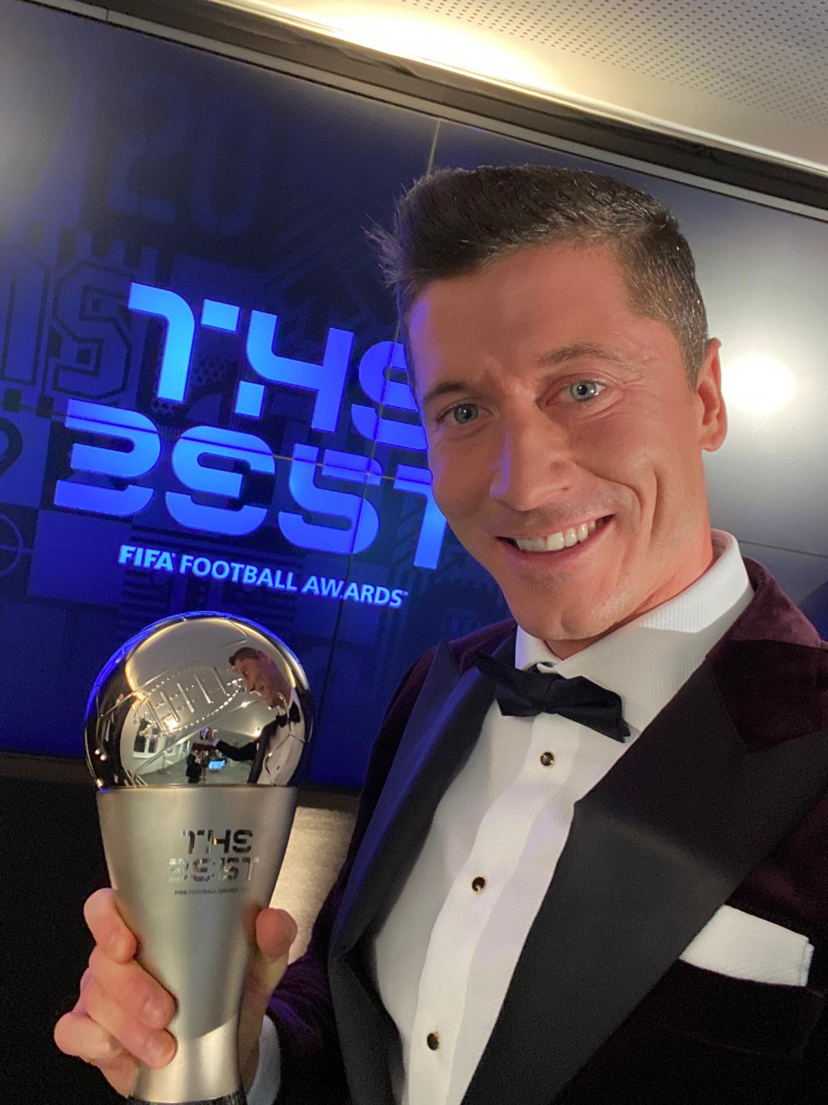 Robert Lewandowski najbolji nogometaš svijeta