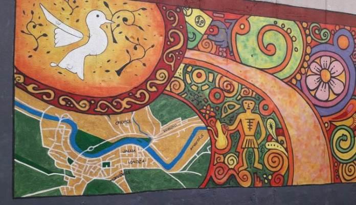 Zeničani 25. godišnjicu mira u BiH obilježili izradom murala