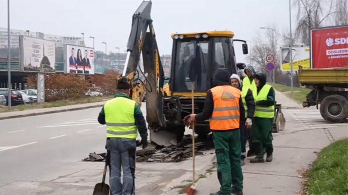 U toku sanacija rupa na gradskim saobraćajnicama u Zenici