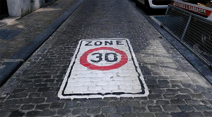 U Briselu od 1. januara ograničenje brzine 30 kilometara na sat
