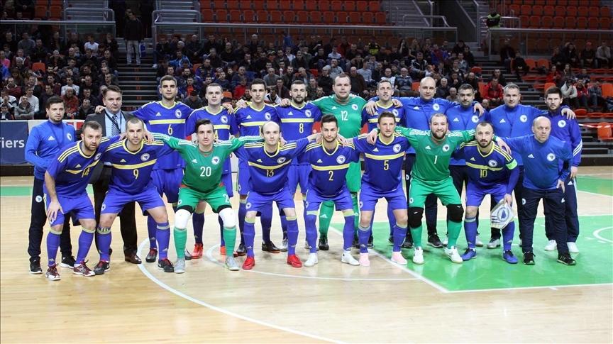 Futsal tim BiH spreman za duel sa Sjevernom Makedonijom u Zenici