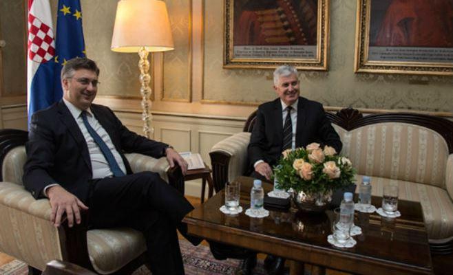 Plenković I Čović