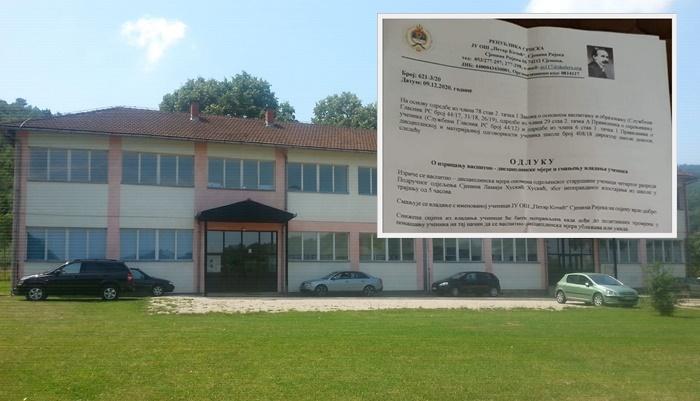 Podignuta krivična prijava protiv direktorice škole koja je djevojčici zbog proslave Dana državnosti BiH smanjila vladanje