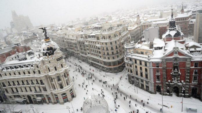 Španija Snijeg