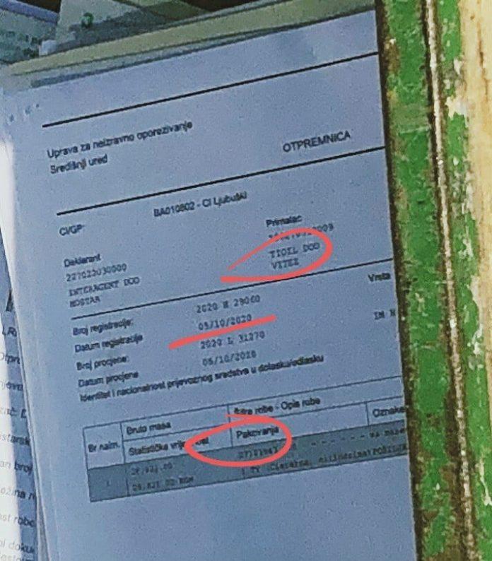 Tioil Carinski Dokumenti U Kolicima Oznaceno Crvenom 696x794 1