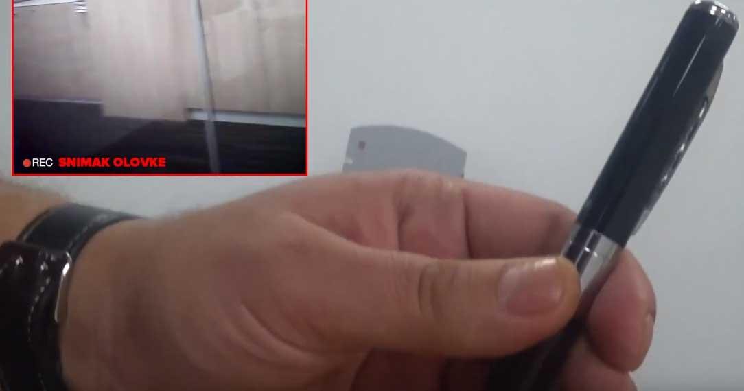Pogledajte kako radi špijunska olovka koja je obnovila rat Semira Efendića i Elmedina Konakovića (VIDEO)