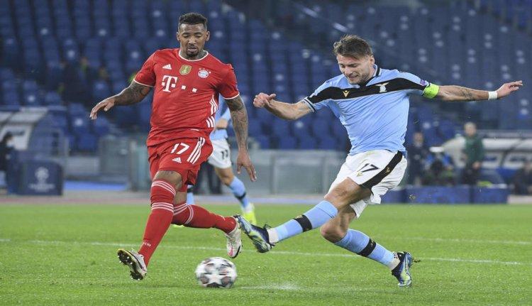 SS Lazio Vs FC Bayern Munich