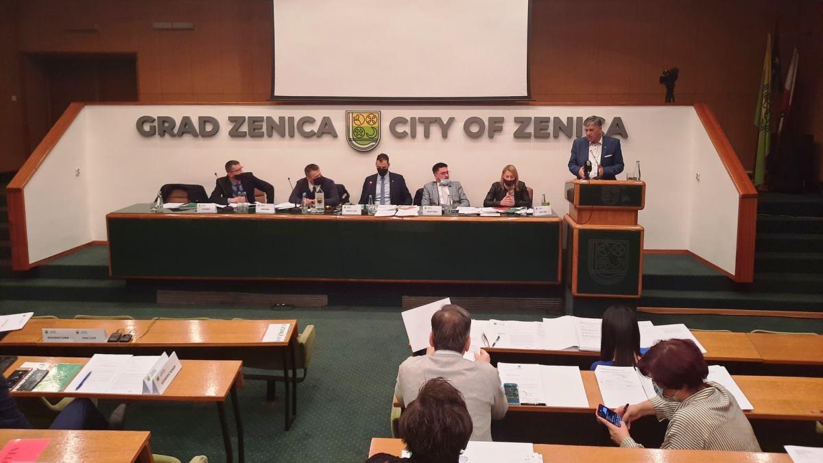 Gradsko vijeće Grada Zenica usvojilo budžet u iznosu od 62,6 miliona KM