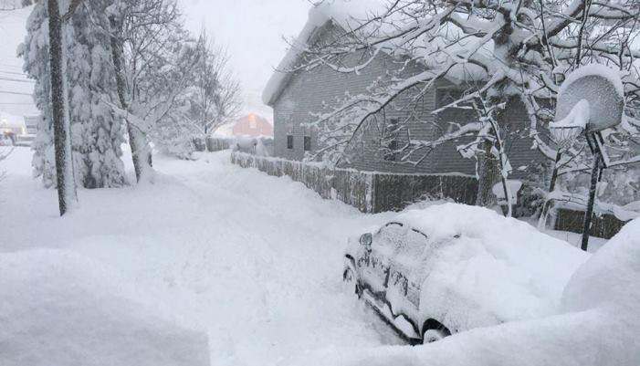 Njemačka Snijeg
