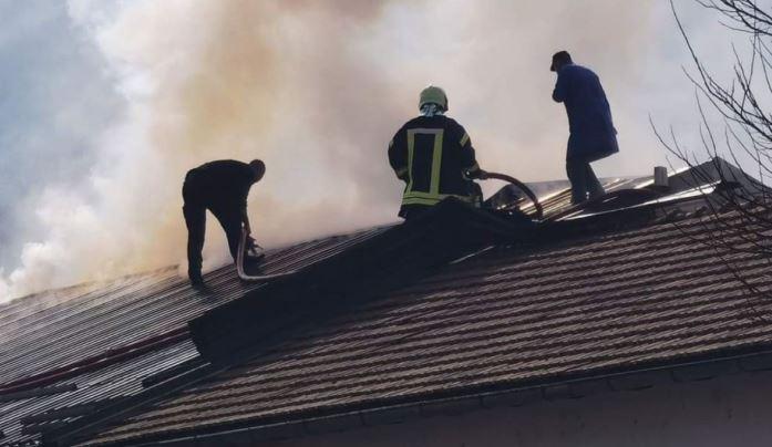 Ugašen požar u zeničkom zatvoru