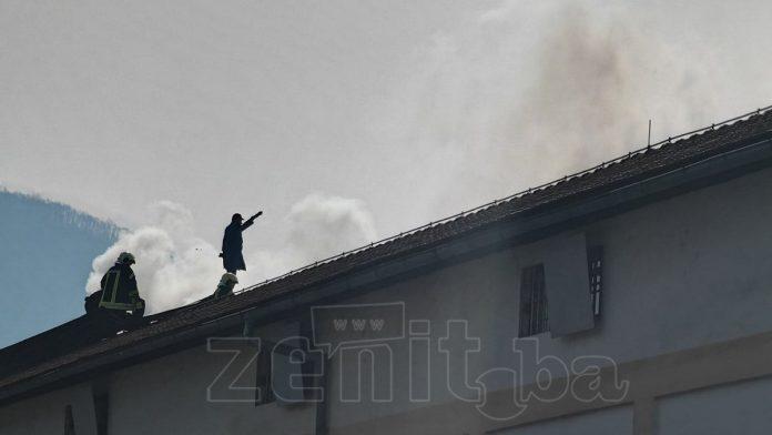 Požar Vatrogasci KPZ