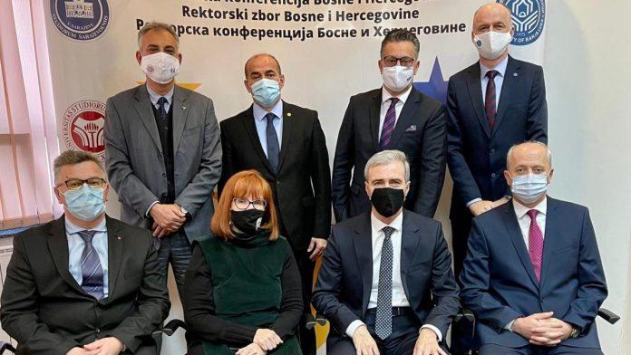 Univerzitet u Zenici preuzeo predsjedavanje Rektorskim zborom/Rektorskom konferencijom BiH