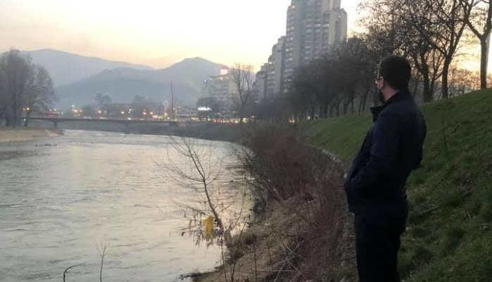 Pogledajte kako izgleda korito rijeke Bosne u centru Zenice (FOTO)