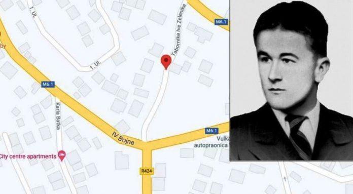 Ustaša dobio ulicu koja je nosila ime po njegovom bratu partizanu