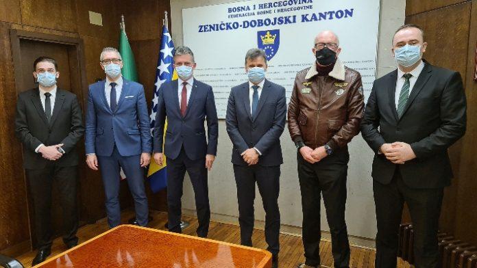 Fadil Novalić boravio u Zenici, razgovarao sa premijerom ZDK