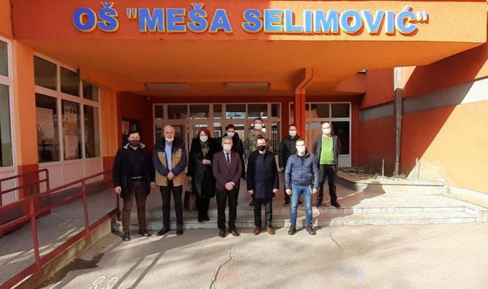 Posjeta OS Mesa Selimović