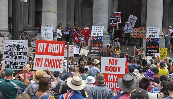Demonstracije protiv vakcinacije širom Australije (VIDEO)