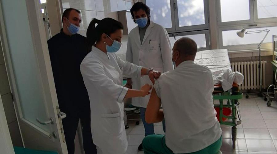 U ZDK uspješno provedena vježba pripremljenosti za imunizaciju protiv Covida-19