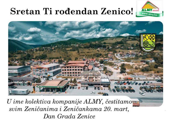 Čestitka Dan Grada Zenice 2021