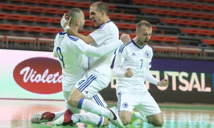 Futsal BiH večeras protiv Srbije završava kvalifikacije za EURO 2022