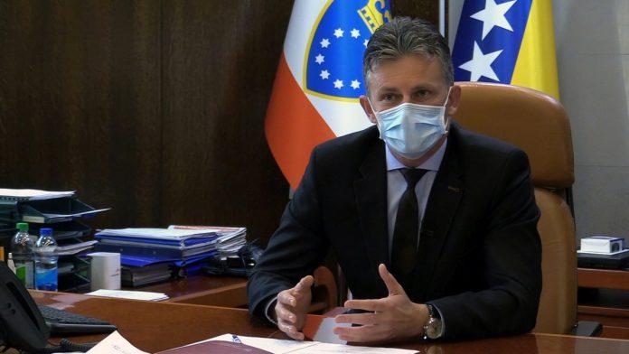 Mirnes Bašić, v.d. premijera Vlade ZDK