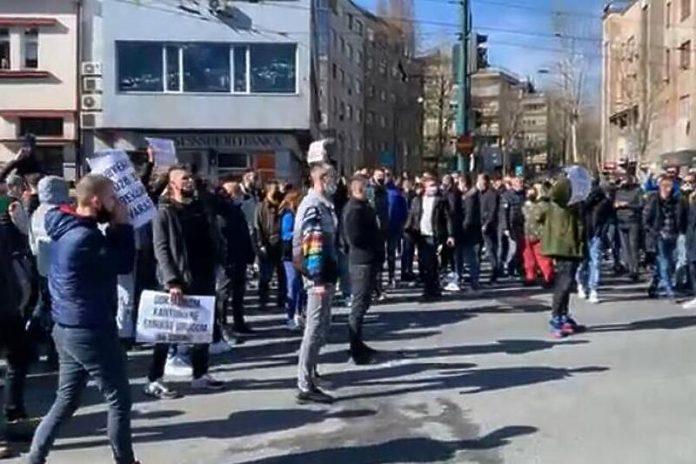 Protesti U Sarajevu