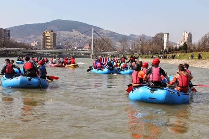 Poziv za sve koji žele na rafting Bosnom povodom Čimburijade