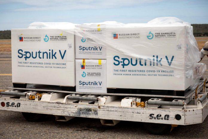 The First Sputnik V Vaccines Arrive In Venezuela