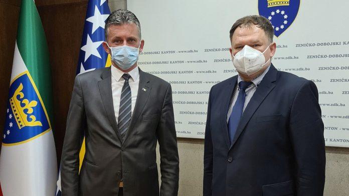 Bašić i Nedera razgovarali o saradnji Vlade i Terenskog ureda OSCE-a u Travniku