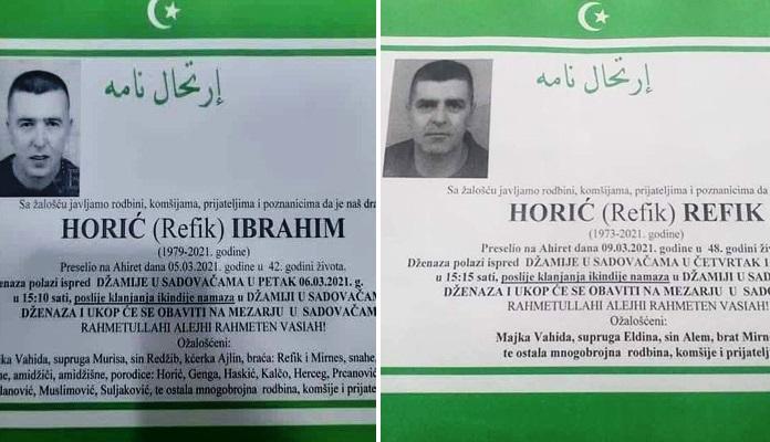 U Travniku u četiri dana preminula dva brata od posljedica koronavirusa