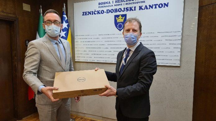 Misija OSCE-a u BiH donirala tehničku opremu Timu za prevenciju i borbu protiv korupcije ZDK