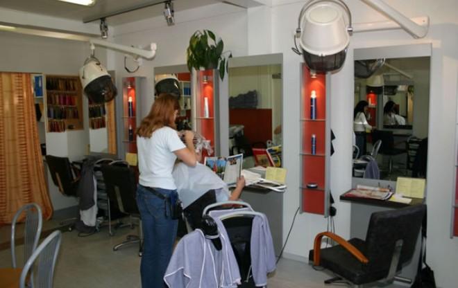 Frizerski Salon Ilustracija
