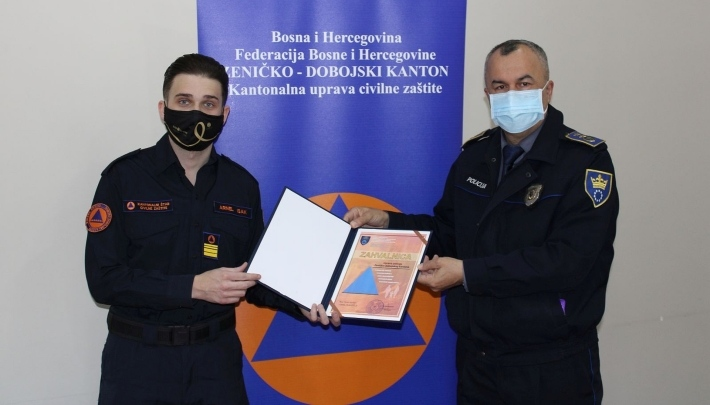 KŠCZ ZDK dodijelio priznanja povodom Međunarodnog dana civilne zaštite (FOTO)
