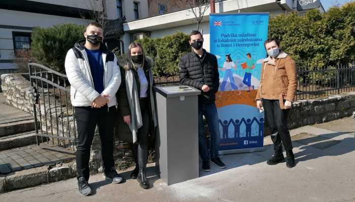 Mladi postavili 3 solarne turističke info-table u Zenici (FOTO)