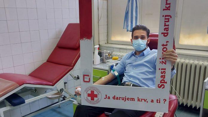 Ministar Isak i saradnici darovali krv u Kantonalnoj bolnici Zenica