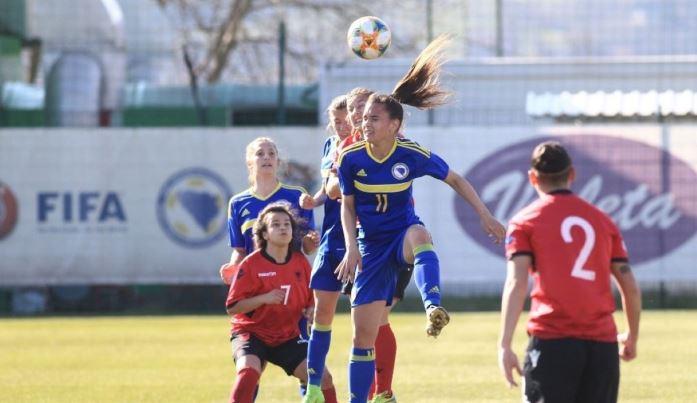 Ženska fudbalska reprezentacija BiH igrala neriješeno sa Albanijom
