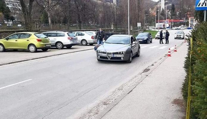 Desetogodišnja djevojčica povrijeđena u saobraćajnoj nesreći u Zenici