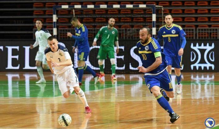 Futsaleri BiH poraženi od Srbije u Zenici