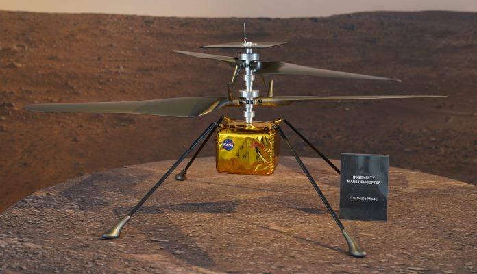 NASA Helikopter Na Marsu