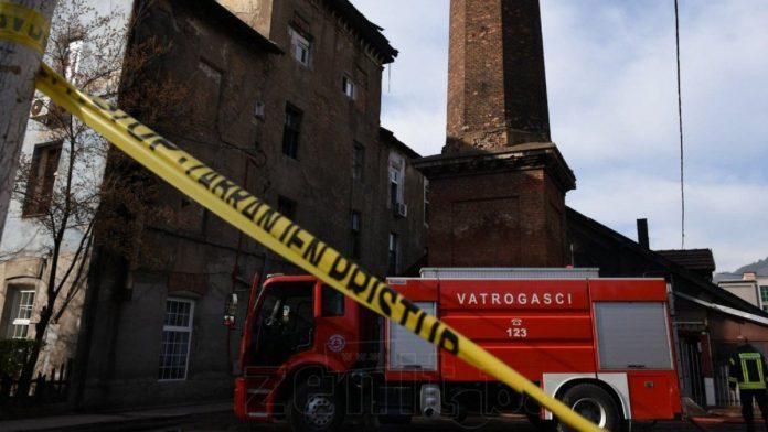 Uhapšene dvije osobe nakon požara u Zenici, sumnja se na namjernu paljevinu
