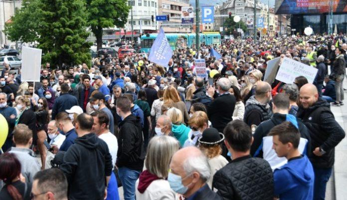 Protesti Sarajevo