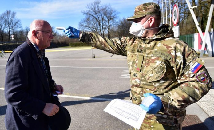 Coronavirus Containment Efforts In Slovenia