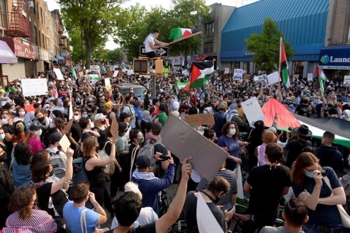 Protesti Amerika za Palestinu